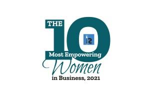 Lisa PR 10 Most Empowering Women in Business, 2021 LOGO